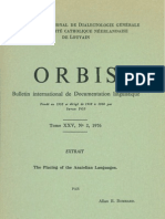Bomhard - The Placing of the Anatolian Languages
