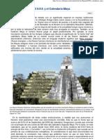 El 9.9.9. y El Calendario Maya