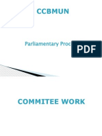 Parliamentary Procedure for un models