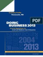 Doing Business Venezuela World Bank