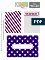 Ms Kimm July 4th Printable PL Cards