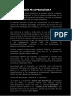 REPORTE TEORÍA PSICOPEDAGÓGICAbeto