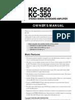 ROLAND Kc350 Doc Manual