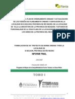 Plan de Ordenamiento Urbano El Bolson - Villa La Angostura