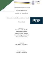Estructura Del Curso y Actividades