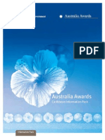 Australia Award Caribbean Info Pack (English) Web Version