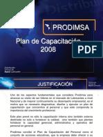Planificación Plan Capacitación