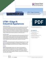 UTM-1 Edge Industrial Datasheet