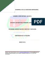 Portafolio Del Desarrollo de La Capacidad