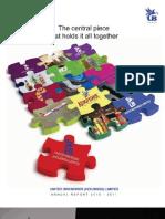 UBHL Annual Report 2011