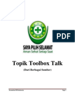 Topik Toolbox Talk