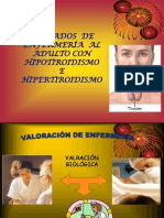 Cu. Enf. de Hipo e Hipertiroidismo