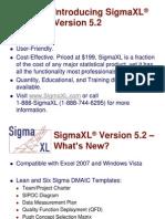 SigmaXLV5.2 Demonstration