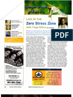 Live in the zero stress zone with Yoga Nidra