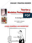 Curriculum y Practica Docente