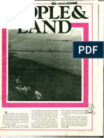 People & Land - Volume 1 Number 1 - Summer 1973 OCR Reduced