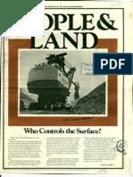 People & Land - Volume 2 Number 1 - Summer 1974 OCR Reduced