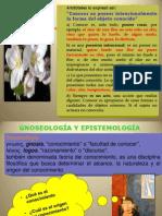 Gnoseología O Teoría Del Conocimiento