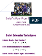 Aaron Kunz Bullets 44 Defense