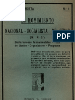 El MNSCH - Declaraciones Fundamentales