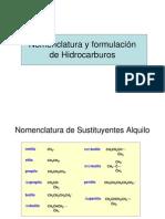 Nomenclatura y Formulación