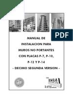 20110829 Manual P7 P10 P14 Version 12 La Casa