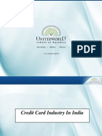 Credit Card Industry Presentation - Unitedworld School of Business