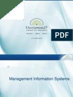 ERP Introduction Presentation - Unitedworld School of Business