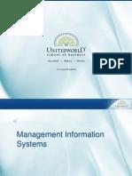 ERP -Selection Criteria Presentation - Unitedworld School of Business