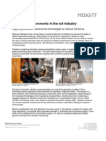 Vibration Measurements in the Rail Industry