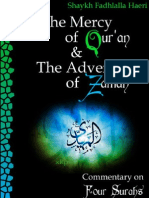 The Mercy of Quran and the Advent of Zaman - Commentary on Four Suras - Shaykh Fadhlalla Haeri - XKP