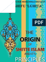 The Origin of Shiite Islam and Its Principles - Allamah Shaykh Mohd Husayn Al Kashifu Lghita -xkp