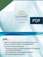 Law Presentation - Unitedworld School of Business