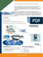 ACTAtek Access Manager Brochure v1.0