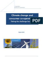 EuroCoop Climate Change and Consumer Cooperatives 2012-08-22