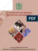 Mineral Potential of Pakistan