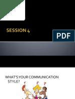 Session 3 - effective communicator