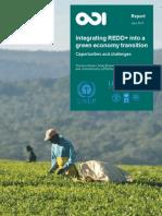 Integrating REDD Into a Green Economy Transition