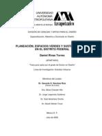 Planeacion Espaciosverdes Sustentabilidad DF
