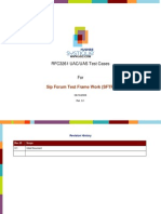 RFC 3261 UAC and UAS Test Cases for SFTF 5t55