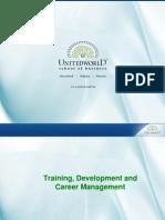 Training and Development Presentation - Unitedworld School of Business