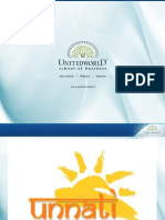 Unnati Presentation - Unitedworld School of Business