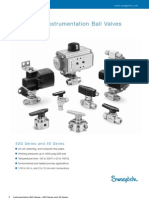 One-Piece Instrumentation Ball Valves