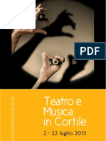 Teatro e Music a in Cor Tile 2013