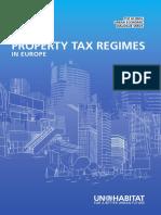 Property Tax Regimes Europe