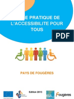 Guide Pratique de l'Accessibilite
