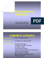 Quadro Normativo Generale Corso Catania