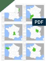 Fiches régions France
