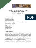 El Abandono Confiado a La Divina Providencia de San Claudio de La Colombiere