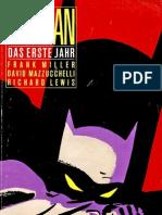 Batman 1 - Das Erste Jahr
